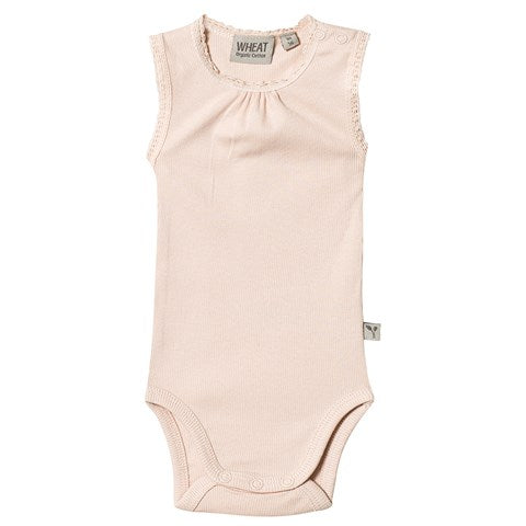 Blush Ribbed Onesie