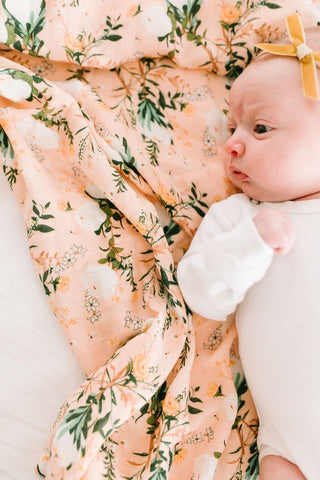 Blushing Protea Swaddle