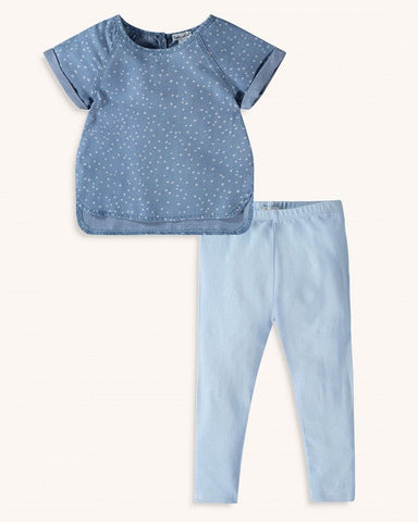 Chambray Dot Set
