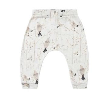 Winter Birds Slouch Pant