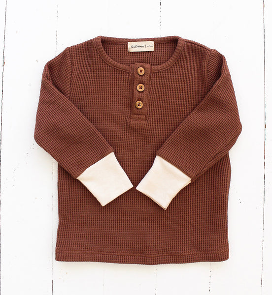 Spice Waffle Henley