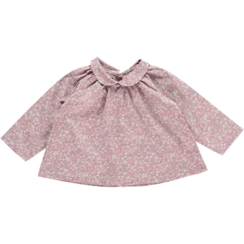 Norma Shirt - Daisy Pink