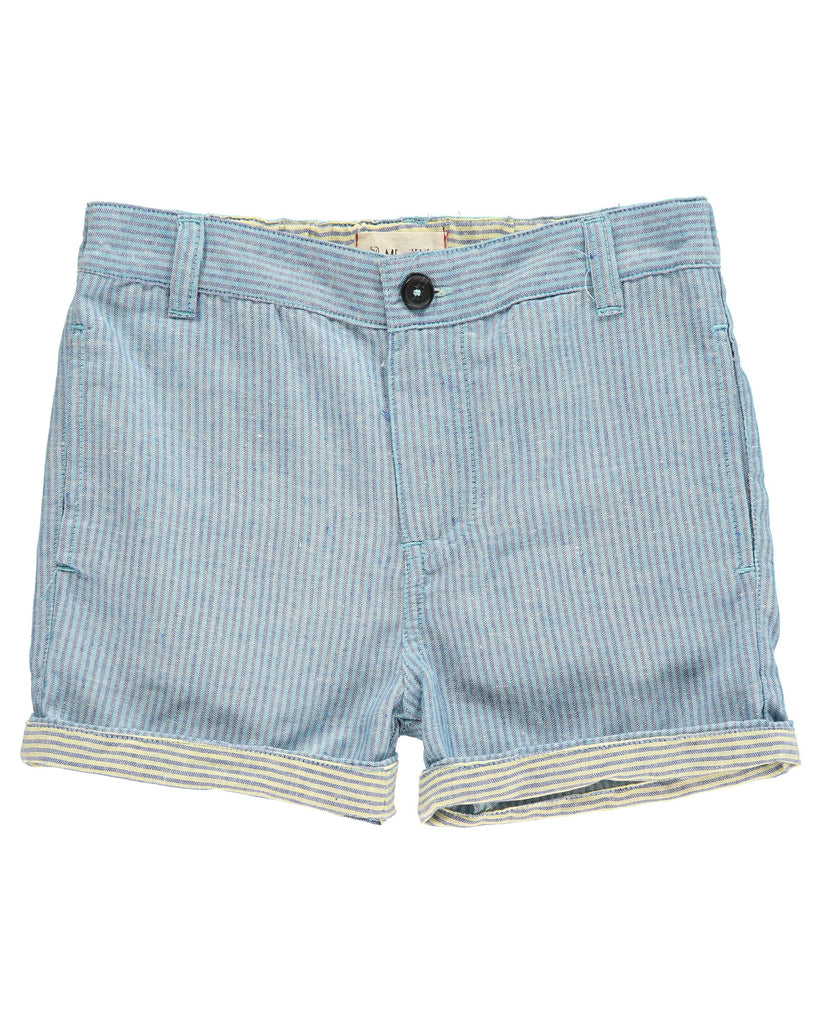 Turn Up Shorts - Blue