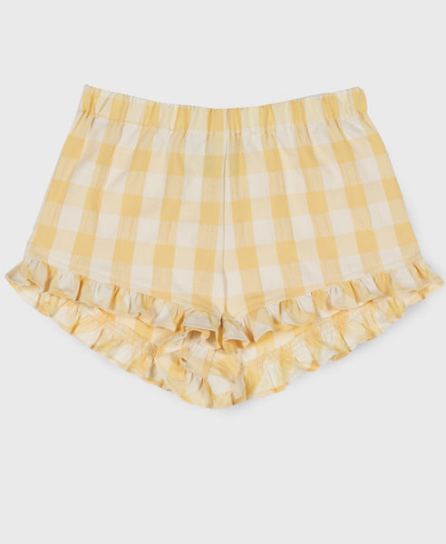 Vichy Butter Shorts