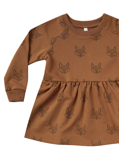 Fox Raglan Dress