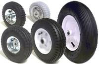 Pneumatic and flat-free Wheels - Casterland