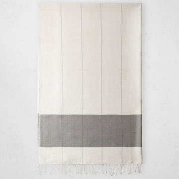 Karo Bath Towel - Sable
