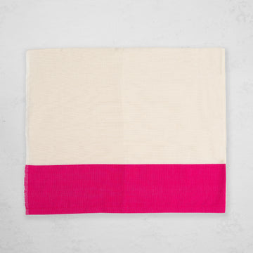 Solid Stripe Curtain - Fuchsia