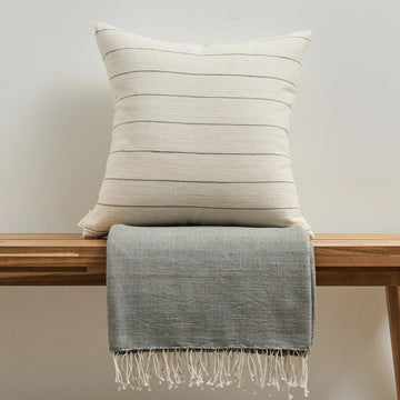 Pillow + Throw Combo - Pumice