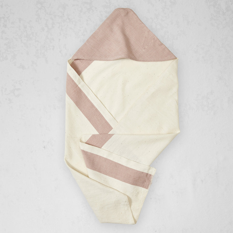 Aboosh Hooded Towel - Dusty Rose