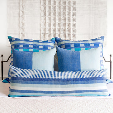Coordinated Pillows - Azure