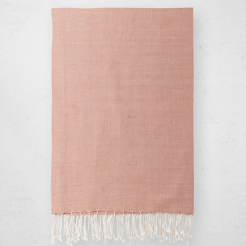 Solid Throw - Dusty Rose