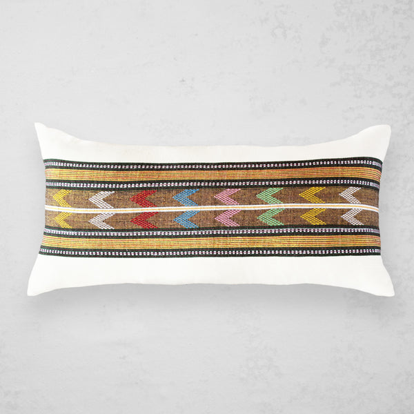 Wollo Lumbar Pillow - Gold