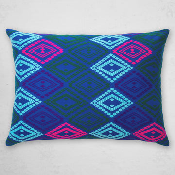 Zinar Pillow - Cobalt
