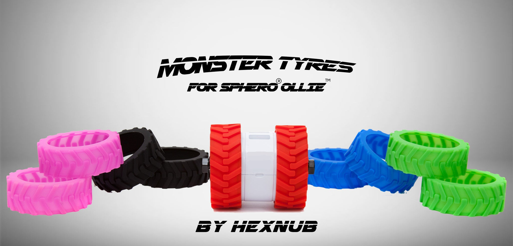 Sphero Ollie Monster Tyres 0638267778969