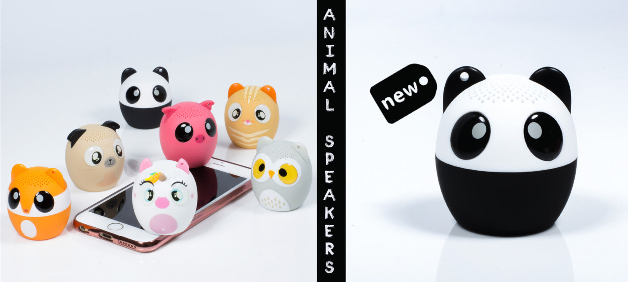 Animal Speakers Bluetooth Portable 5060407525679