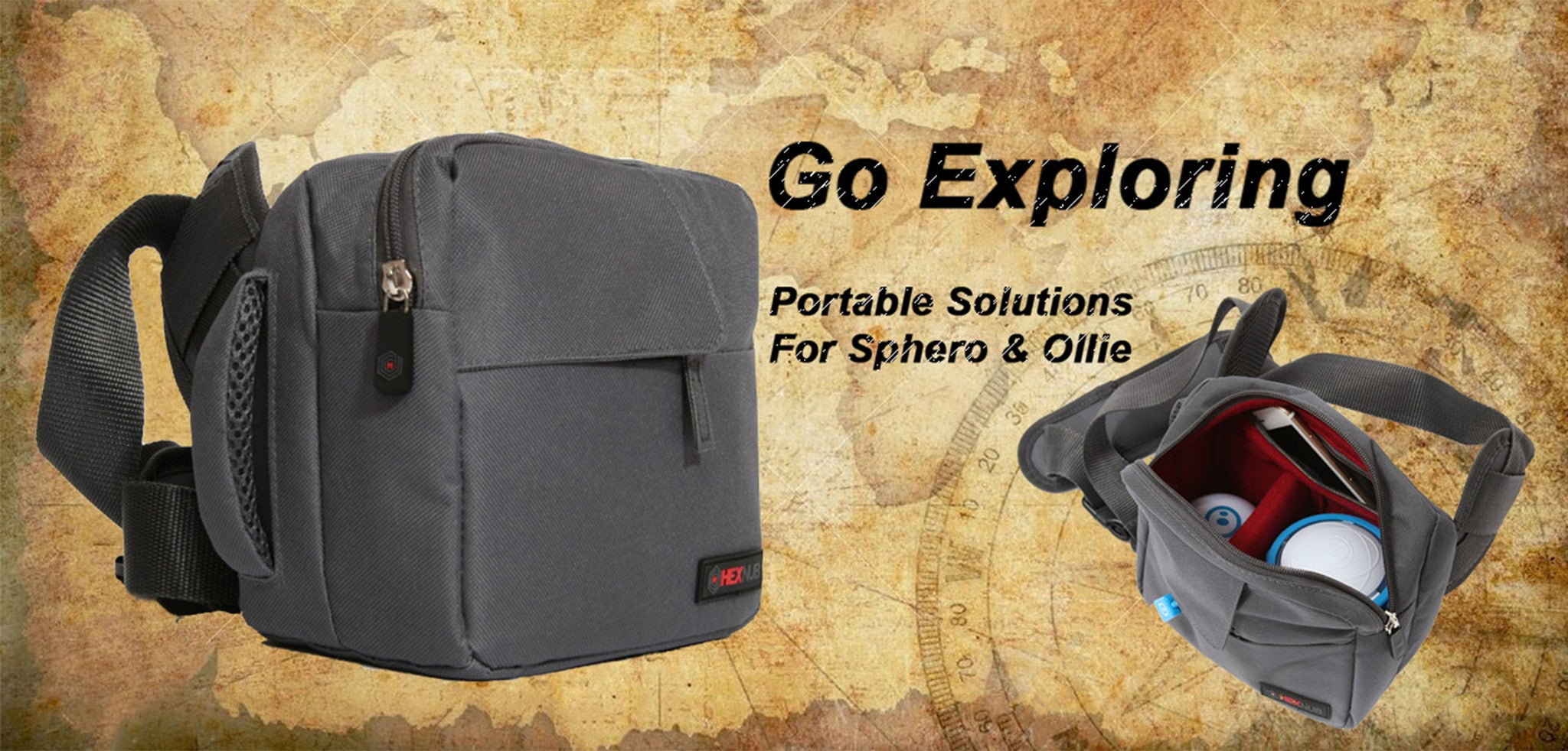 Sphero 2.0 Ollie Accessories Bag 721802180843