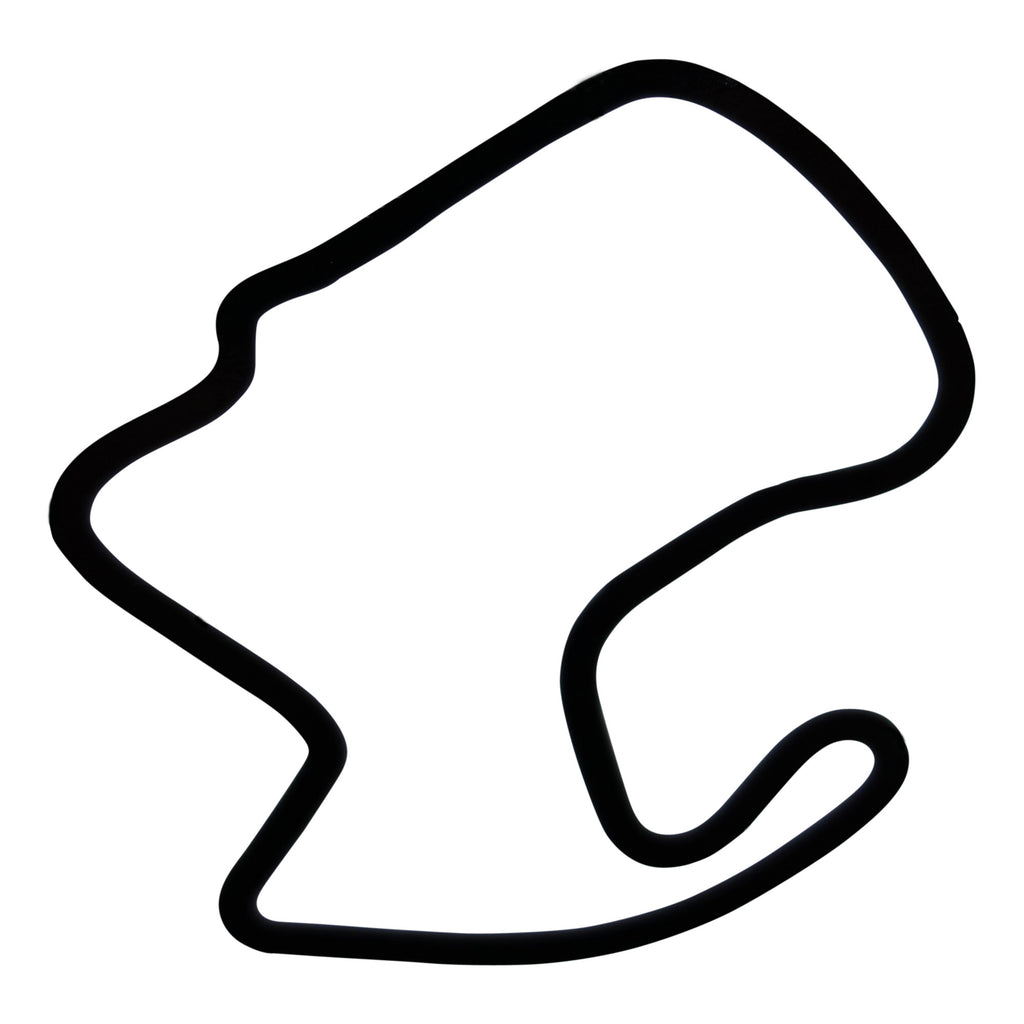 Solo Track Outline Decal