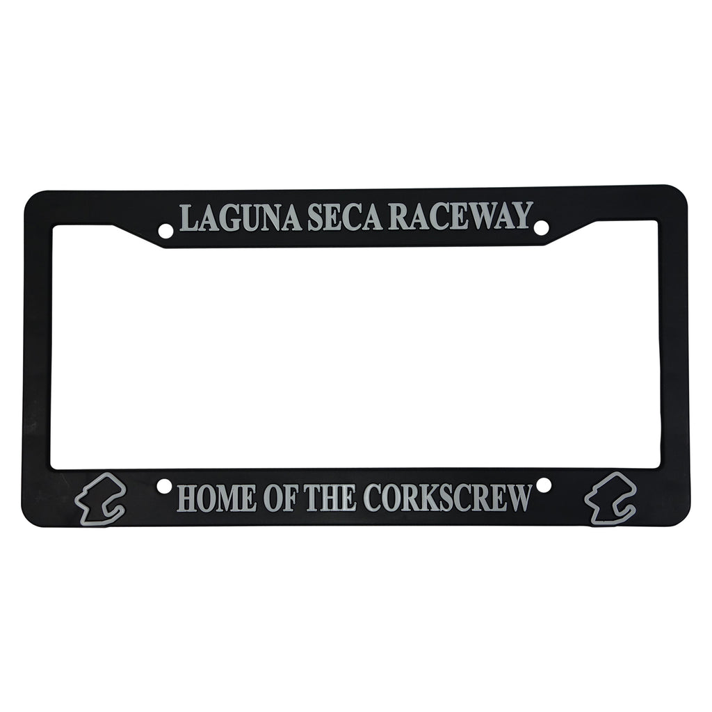 Automobile License Plate Frame- Black