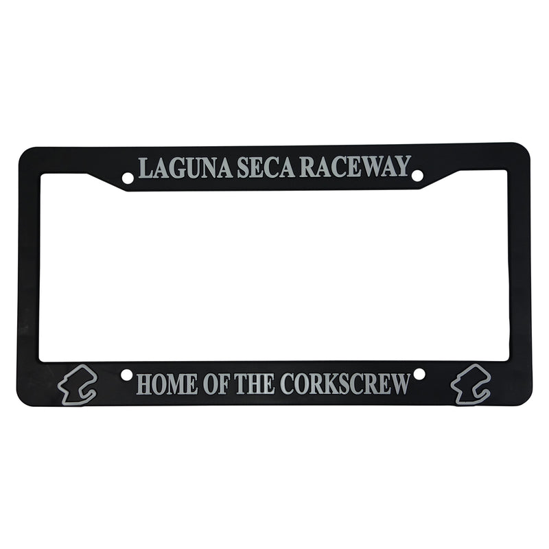 Vintage Laguna Seca Car Decal