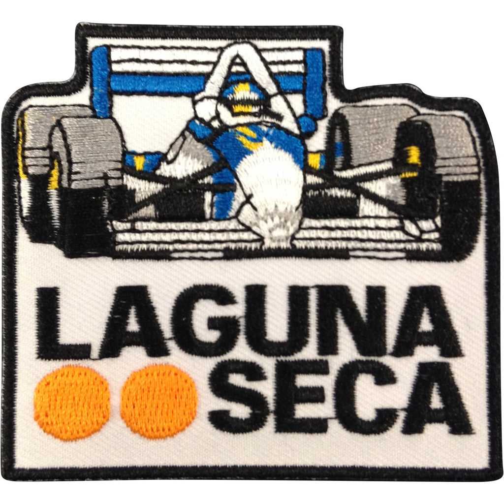 Open Wheel Race Car Patch