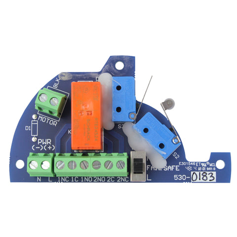 PC Board with Limit and Motor Switch, 24 VAC