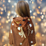 Clothing - Toddler Reindeer Cape Costume, Bambi Or Rudolph Costume