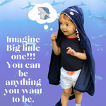 Clothing - Toddler Shark Costume Poncho Cape