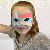 Costume - Shooting Star Rocker Felt Costume Kids Face Mask