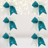 Bundle Sequin Cheer Ponies, Sequin Cheerleader Hair Bow Pack - Chicky Chicky Bling Bling, LLC