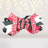 Hair Bow - Girls Over The Top Layered Boutique Hair Bow With Bling