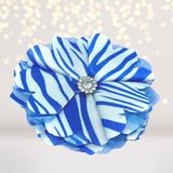 Girls Delicate Satin Flower Hair Clip - Chicky Chicky Bling Bling, LLC