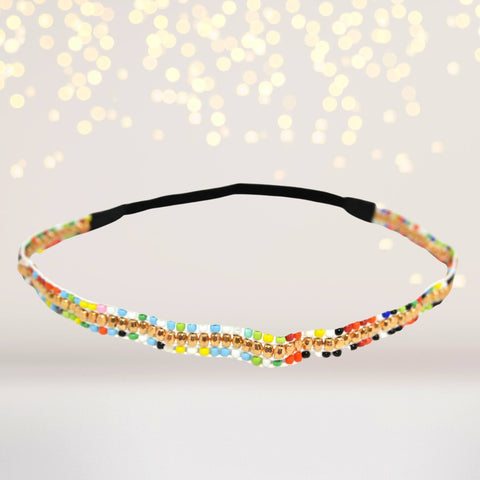 Headband - Bohemian Beaded Aztec Headbands