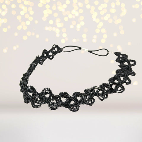 Headband - Scalloped Beads Halo Headband
