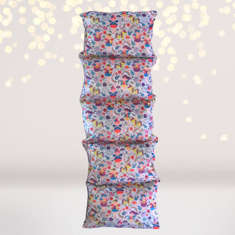 Home & Living - Fairy Print Pillow Bed Case, Floor Lounger,  Gift For Girls Who Love Fairies