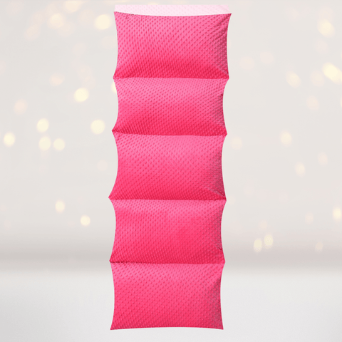 Home & Living - Pink Minky Dot Pillow Bed Case, Floor Lounger Gift