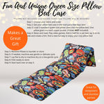 Home & Living - Super Hero Pow Pillow Bed Case, Floor Lounger Holiday Gift For Supers