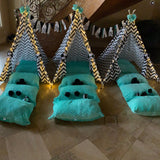 Party Bundle - Panda Teepee Tent Party Pack, Panda Birthday Tee Pee Party