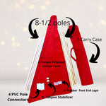 Party Bundle - Super Hero Tee Pee Tent Party Set, Super Hero Sleepover Set, Birthday Party In A Box