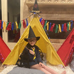 Party Bundle - Wizard Teepee Tent Party Set, Wizard Tee Pee Sleepover Party Set, Wizard Slumber Party Set