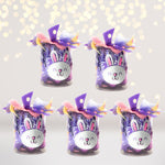 Party Favor - Easter Treat Jar, Easter Party Favors, Easter Treat Bags 55 Piece Set
