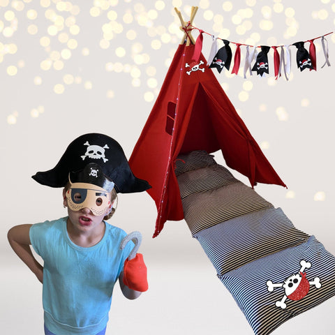 Play Set - Pirate Play Set, Pirate Party Accessories, Pirate Gift Set