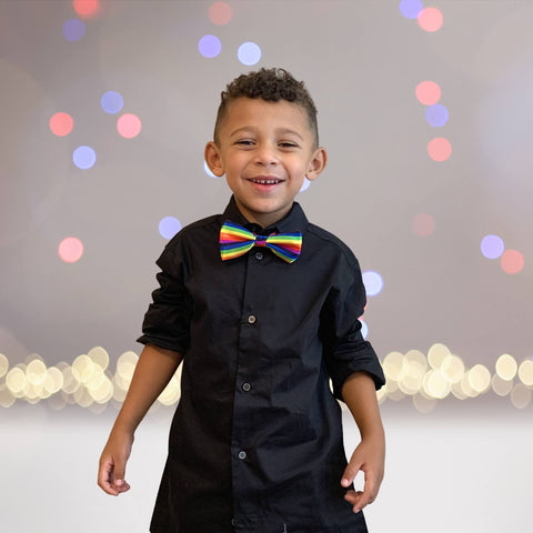 Ties - Toddler And Little And Big Boys Adjustable Bow Tie, Holiday Bow Ties For Kids