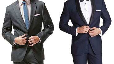 What is the difference between a tuxedo and a coat?