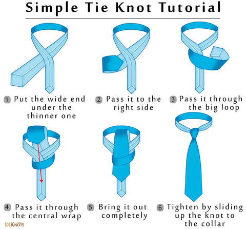 How-to-Tie-a-Simple-Small-Oriental-Tie-Knot-Instructions