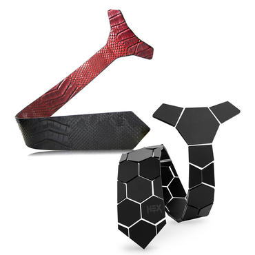 Honeycomb + Bloody Shoes Ties