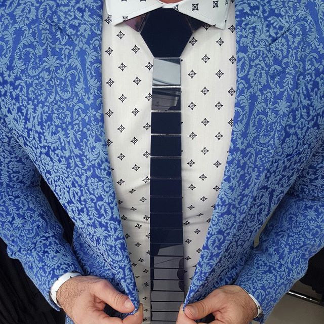 Blue Ties for Men | Hextie |  Azure
