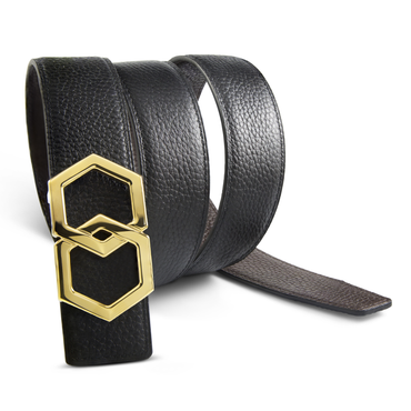 Canary Dark Brown Noche Belt Reversible