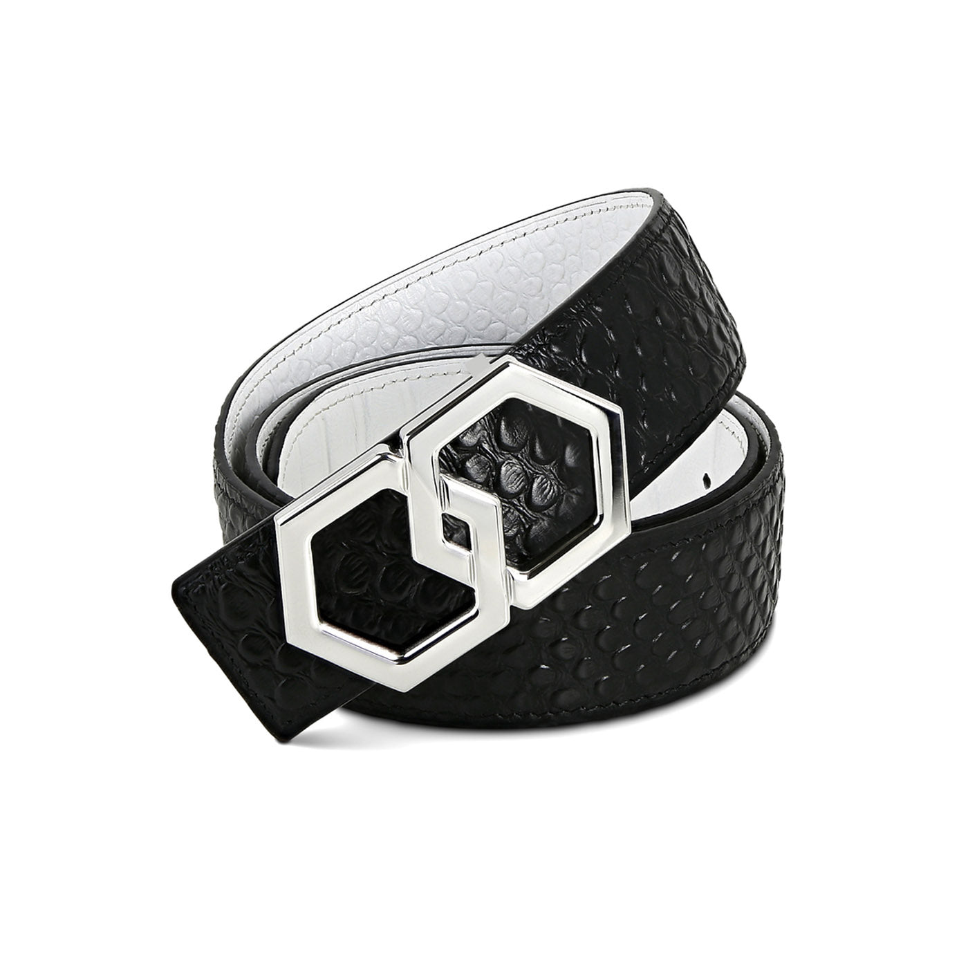 Metale Caviar Belt Reversible