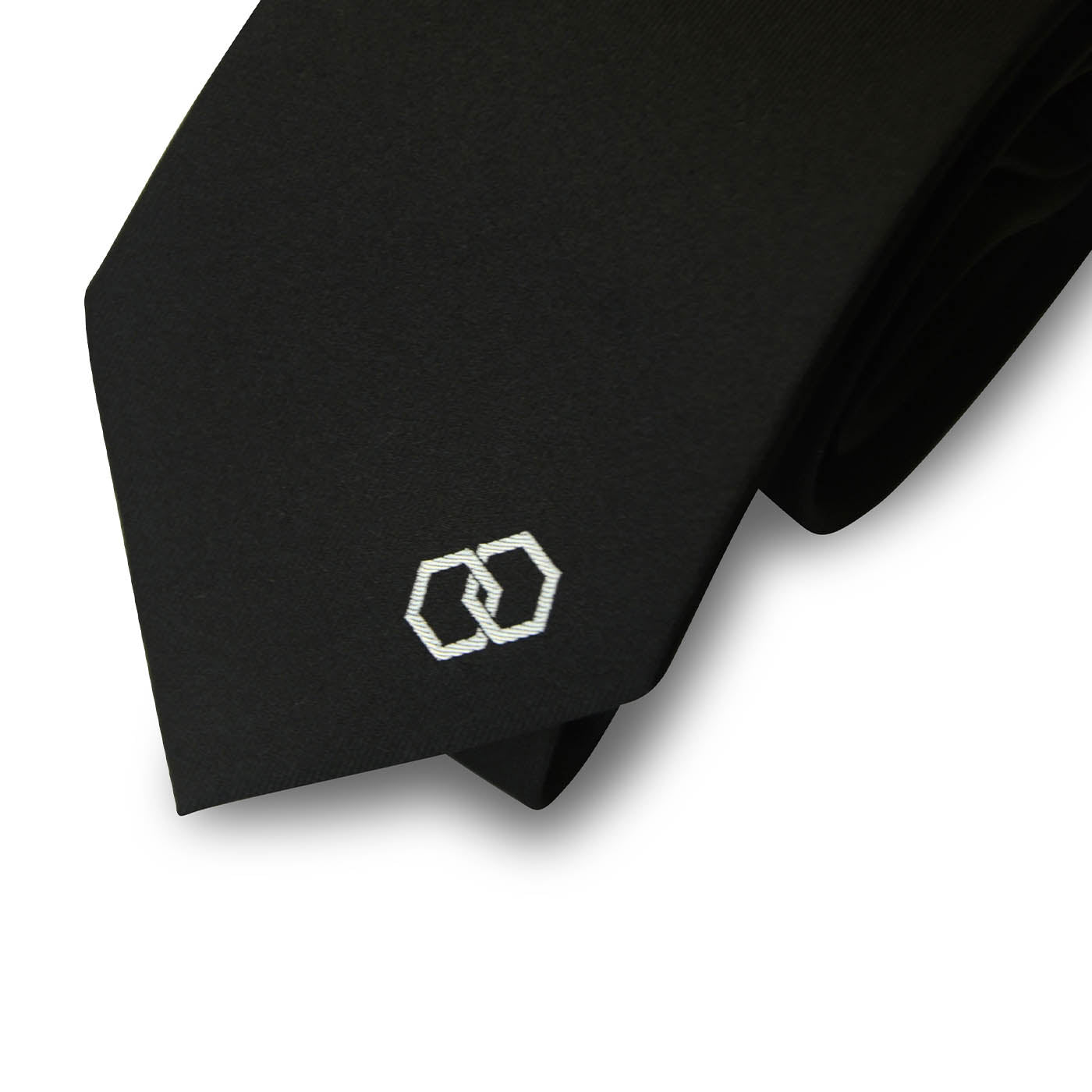 Nero Caviar Silk Pocket Square Combo